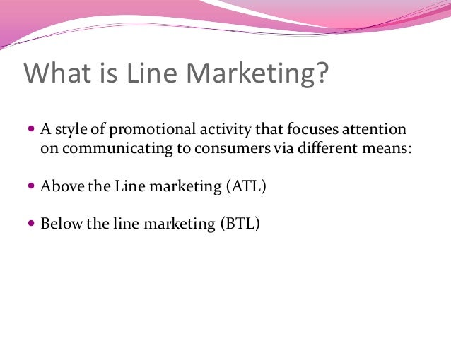 What Are Marketing Activities?