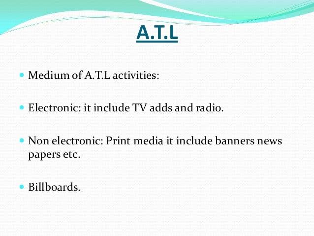 atl and btl activities in marketing