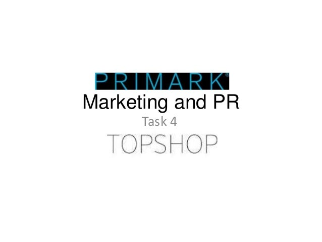 Marketing and PR Task 4
