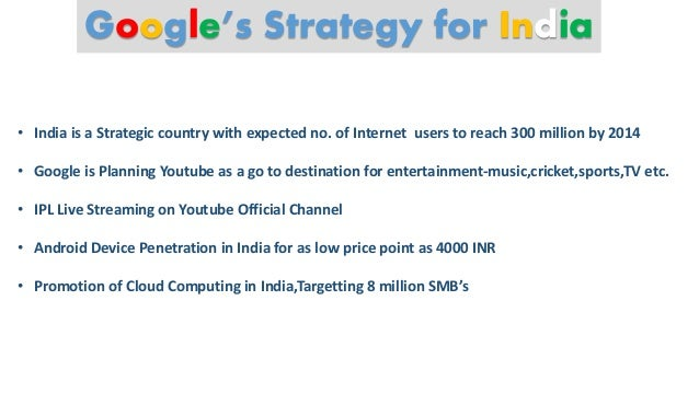 case 12 google s strategy in 2010 Google's opportunities are in the areas of mobile technology, semantic search, its google tv product, cloud computing, and manufacturing of hardware with the swot data in mind, three possible strategies for google are: 1.