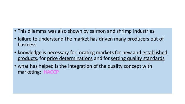 Marketing aquaculture