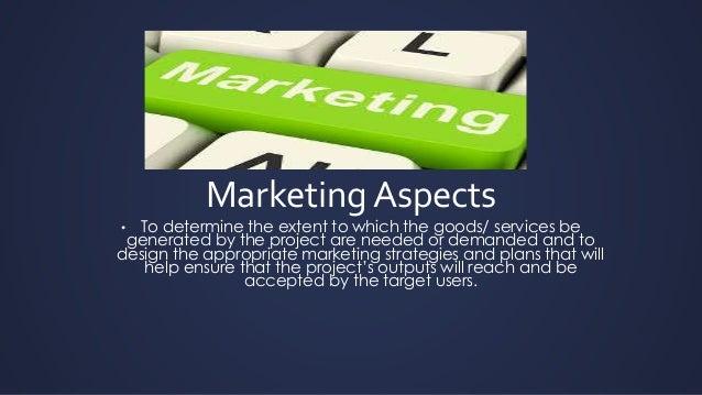 Marketing aspects of Feasibility Study Slide 2