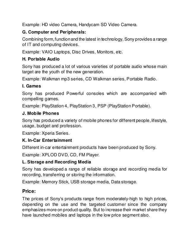 sony vaio marketing mix This presentation describes you about the 4 p's of marketing for sony compnay by dineshbabupugalenthi in sony marketing mix, management presentations, y sony presentation.