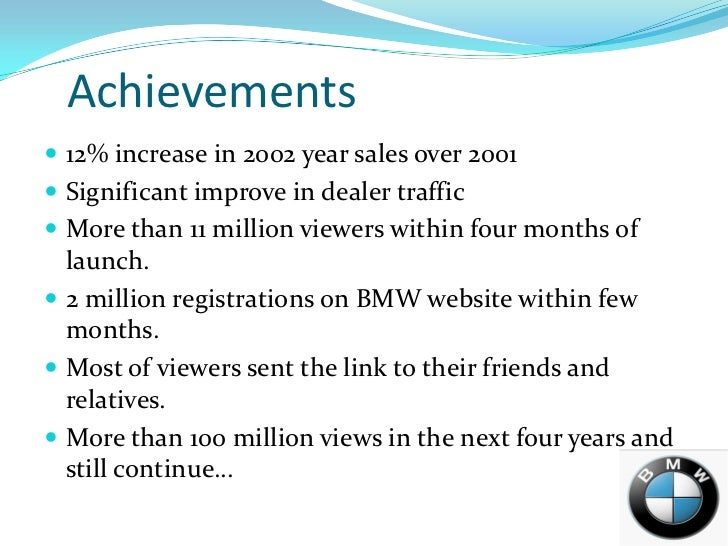bmw films objectives About us our products auto in automotive parts and accessories specialized in luxury brands like bmw and through defined objectives and.