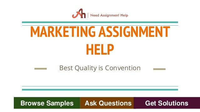 Get Marketing Assignment Help from No. 1 US Company