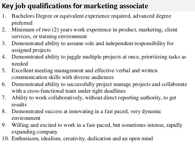 Marketing associate job description – Marketing Assistant Job Description