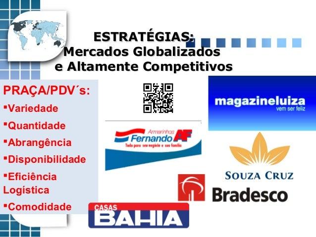 ESTRATÉGIAS:ESTRATÉGIAS: Mercados GlobalizadosMercados Globalizados e Altamente Competitivose Altamente Competitivos PRAÇA...
