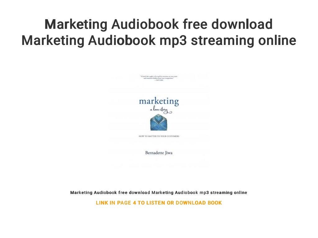 marketing audiobook free download