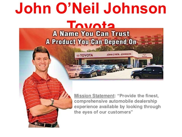 John Oneil Johnson Toyota >> John Oneil Johnson Toyota Top New Car Release Date