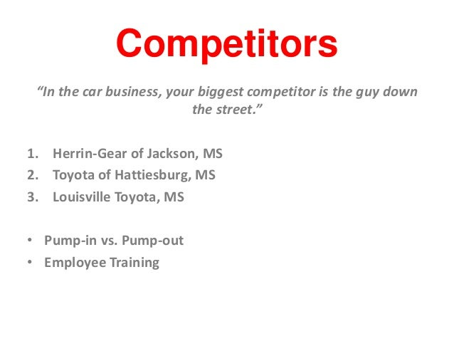 John O Neil Johnson Toyota Marketing Audit