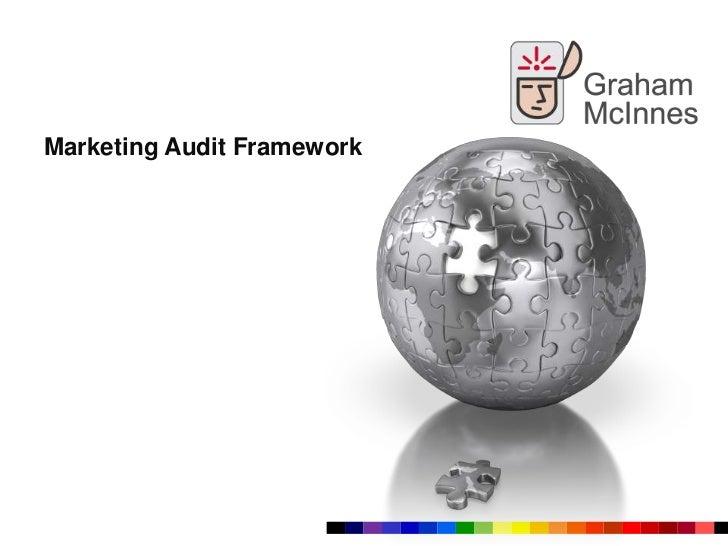 Marketing Audit Framework