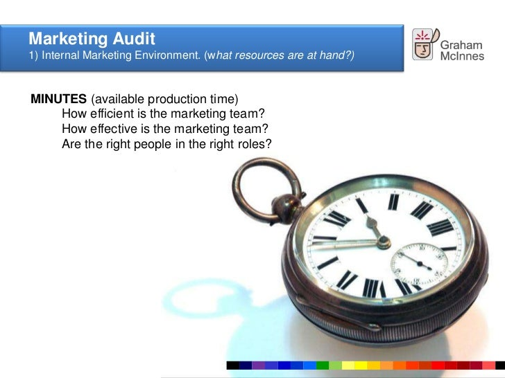 marketing environment audit Marketing audit - a marketing macroenvironment task environment marketing strategy organisation marketing systems marketing productivity marketing functions macro-environmental audit it's about where you are, not what you are.