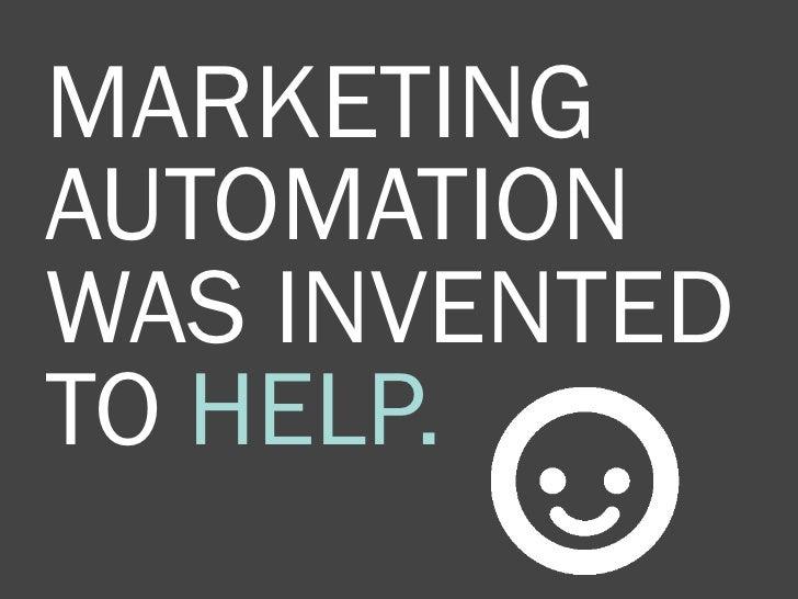 10 Commandments of Marketing Automation Slide 3