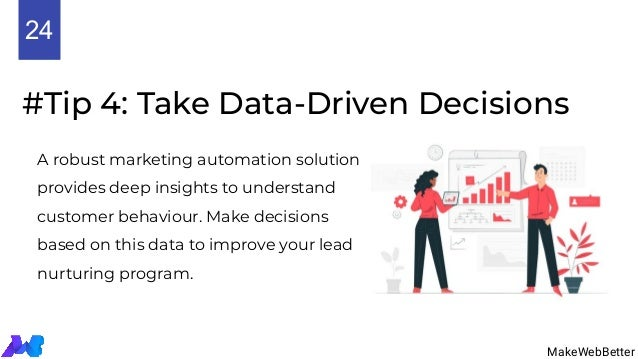 #Tip 4: Take Data-Driven Decisions A robust marketing automation solution provides deep insights to understand customer be...