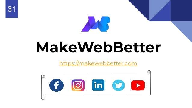 MakeWebBetter https://makewebbetter.com 631