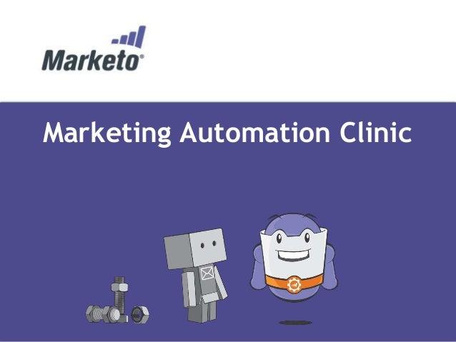 Marketing Automation Clinic