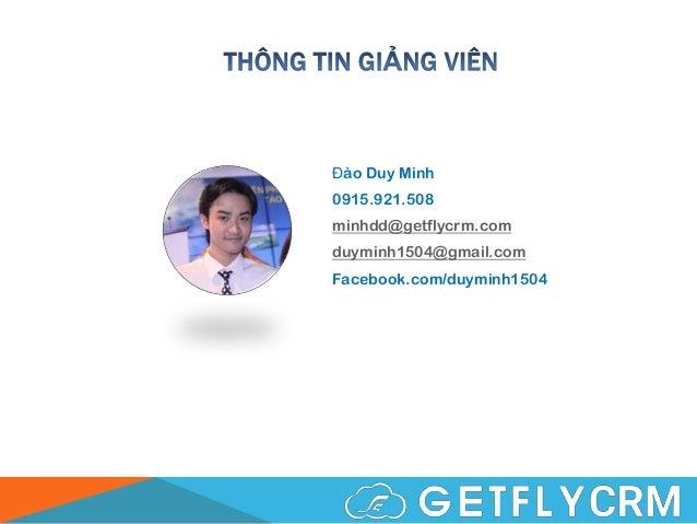 Marketing Automation - Kiến thức nền tảng - Đào tạo nội bộ GetFly Slide 2