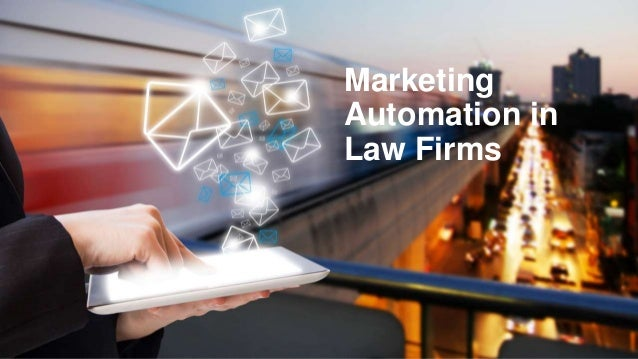 Marketing Automation in Law Firms