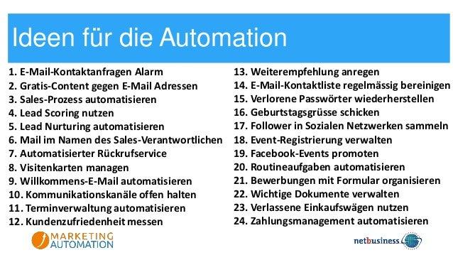 Marketing Tag 17: Automatisiert zu mehr Umsatz dank Marketing Automation