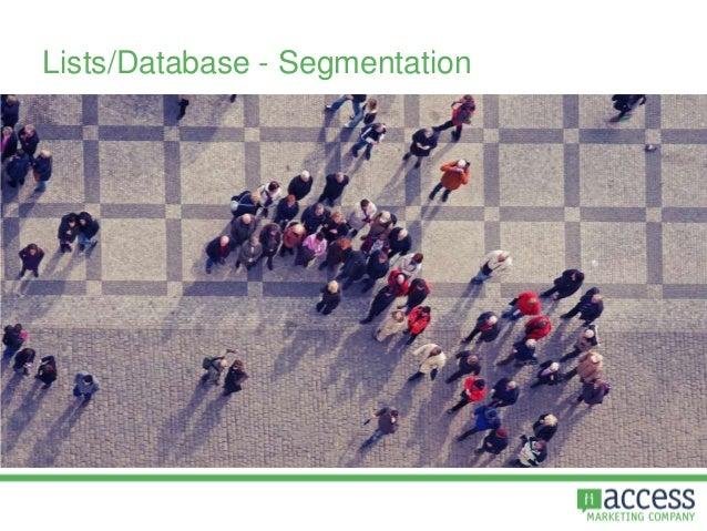 Lists/Database - Segmentation