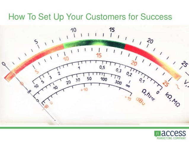 How To Set Up Your Customers for Success