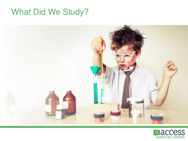 What Did We Study?