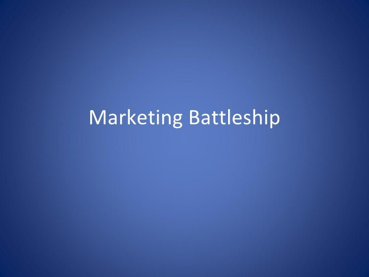 Marketing Battleship