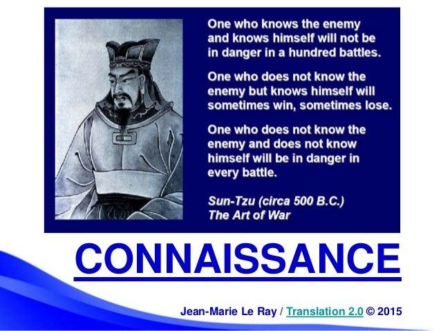 CONNAISSANCE Jean-Marie Le Ray / Translation 2.0 © 2015
