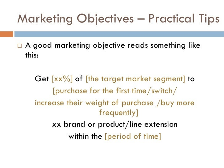 objective brand extension The marketing mix: product  coke instead named its diet cola tab only after nutrasweet was introduced was the brand extension allowed.