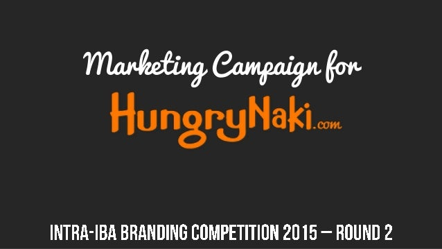 Marketing Campaign for