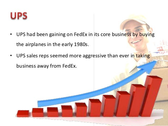 case study fedex vs ups Case study: ups vs federal express i introduction both united parcel service (ups) (case study) unless fedex does the same thing and does it quickly.