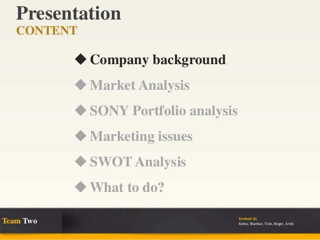 restructuring sony case study analysis The case study says he frequently feels persecuted  the storm and one year writing up his analysis this shows how  case study restructuring sony how to.