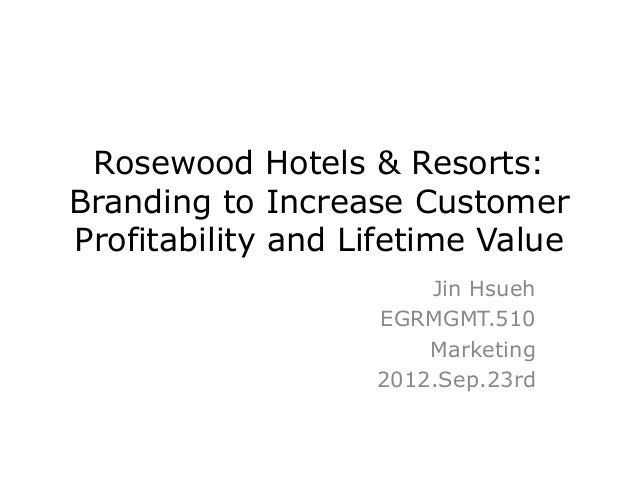 1 why is rosewood considering a new brand strategy They are also the essence of what, today, we call strategic planning, something that has,  resources from current programmes to invest in the new strategy.