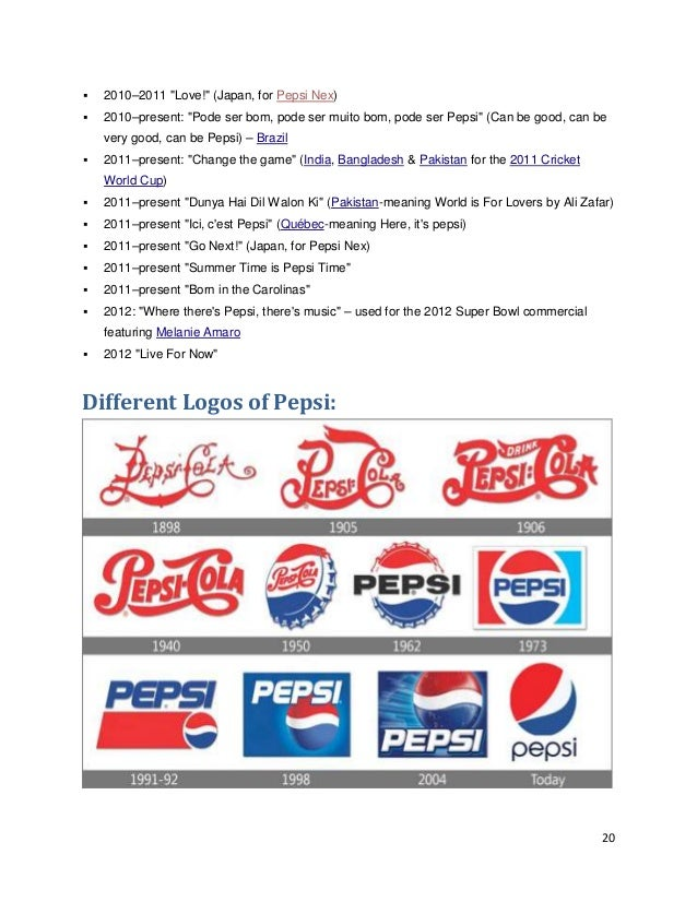 pepsi co analysis A free version of pepsico inc swot analysis 2017 to get the full presentation buy the swot here:.