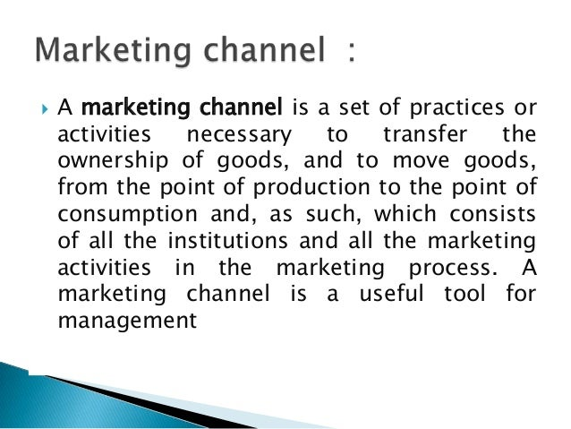 marketing channel essay Three essays on distribution channels and pricing strategy three essays on distribution channels and pricing distribution channels marketing mix advertising.