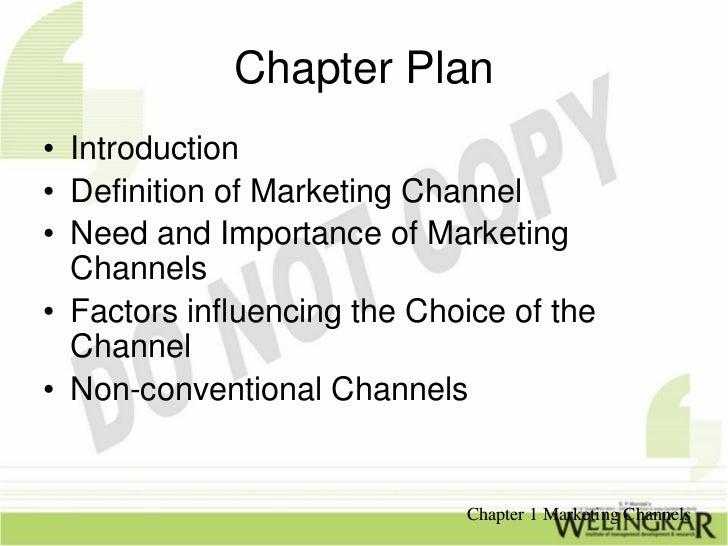 Marketing Channels Slide 2