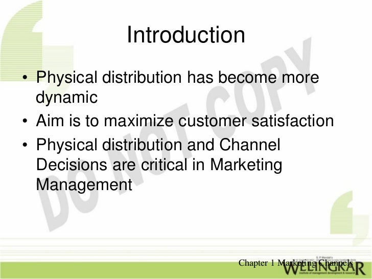 Marketing Channels Slide 3