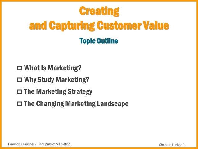 Marketing Principles - Chapter 1 Slide 2