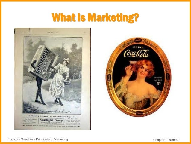 principles of marketing chapter 1 Introductory chapter 1 marketing strategy: a first principles approach 1 part 1  all customers differ 31 2 marketing principle #1: all customers differ .