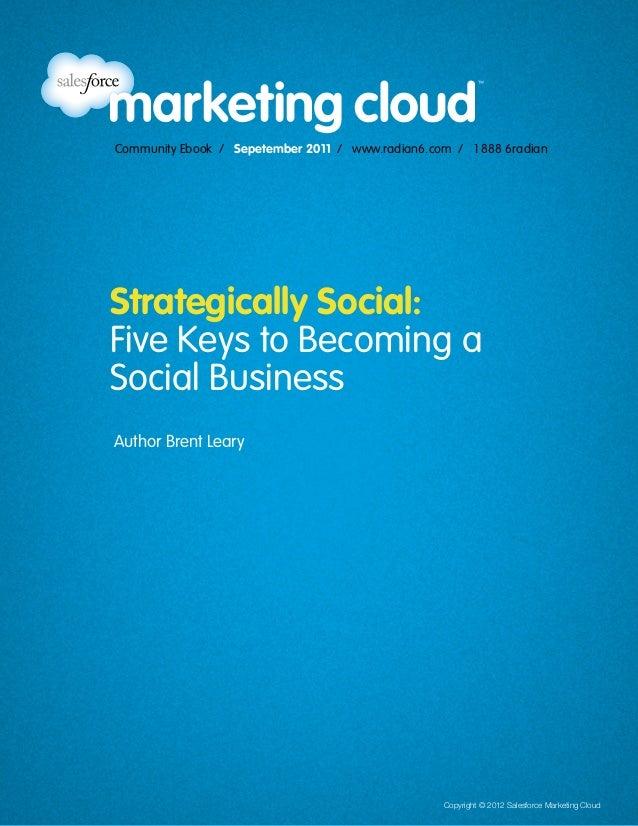 Community Ebook / April 2012                                                                                     5 Steps t...