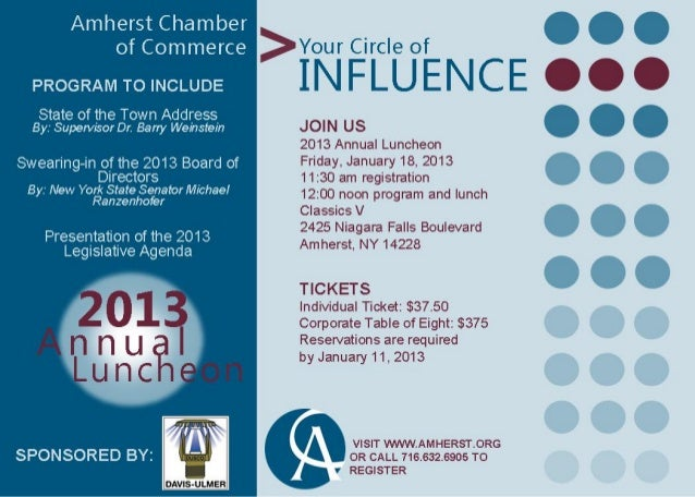2012 BOARD OF DIRECTORSOFFICERSDavid Flynn, Phillips Lytle, LLP                                                ChairmanCol...