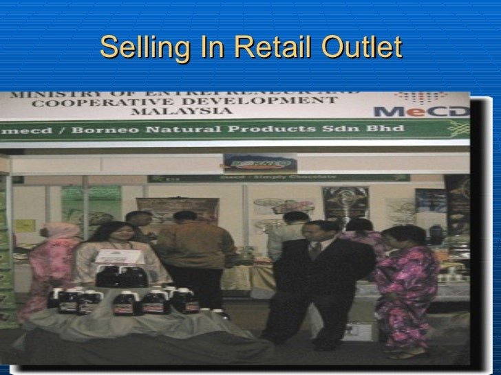 Selling In Retail Outlet