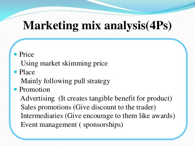 ponds marketing mix Marketing mix - four ps product: it maintains a certain standard in quality it is all seasons can be used throughout the year nice fragrance and lost lasting it has a variety of packaging.