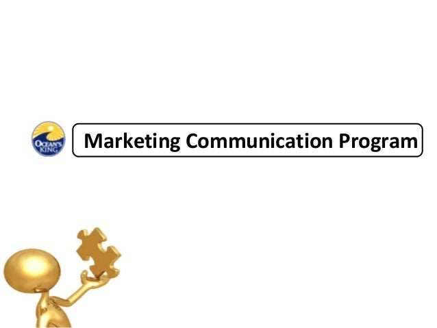 Marketing Communication Program