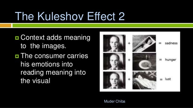 The Kuleshov Effect: the influence of contextual framing on emotional attributions