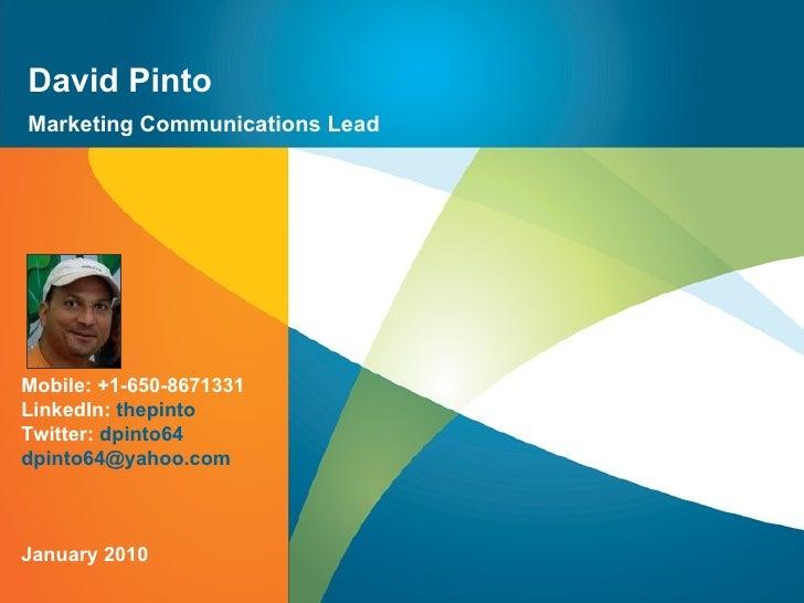 Marketing Communications Lead