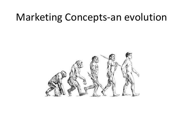 Marketing Concepts-an evolution