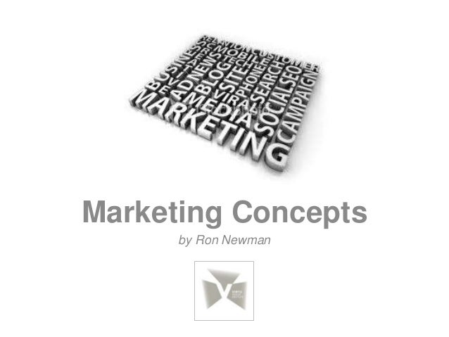 Marketing Conceptsby Ron Newman