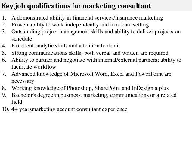 job description for a management consultant. job description for a ...
