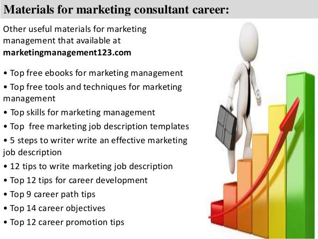 6. Materials For Marketing Consultant ...